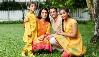 Host Family in India